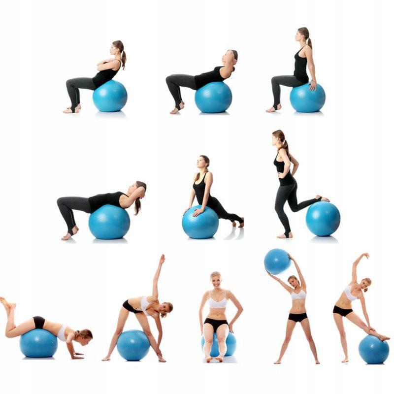 Упражнения для позвоночника на гимнастическом мяче