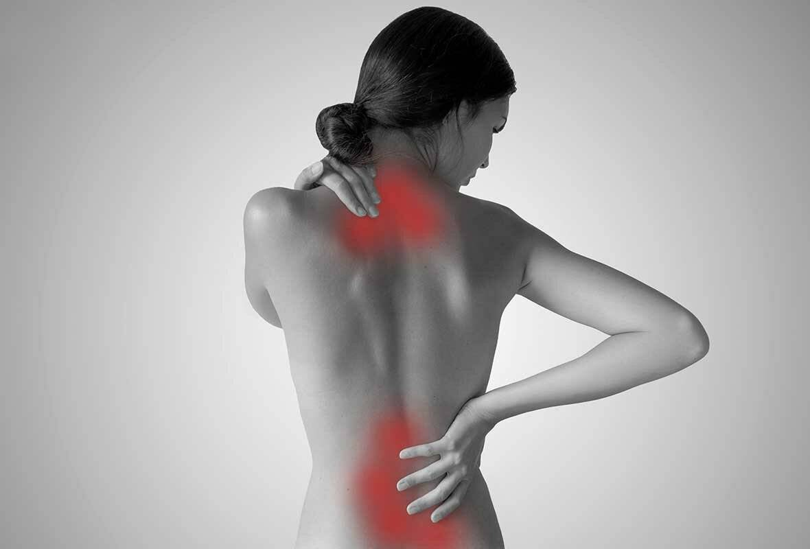 Лечение боли в позвоночнике посередине спины