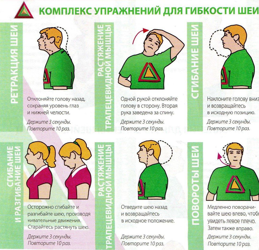 Что делать, если внезапно заклинило шею