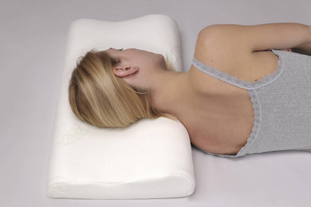 Ортопедическая подушка при шейном остеохондрозе: как выбрать