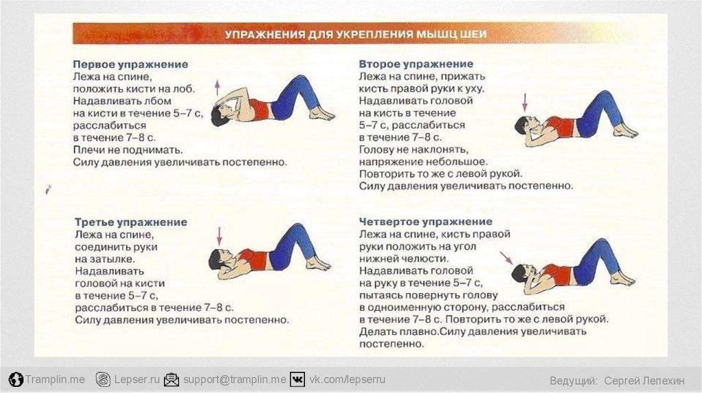 Самые эффективные упражнения для позвоночника - сохраните себе!