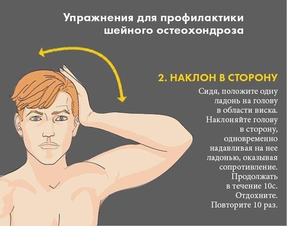 Шум в ушах при остеохондрозе шейного отдела позвоночника